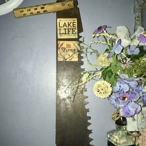 Two man saw! One of a kind vintage saw!